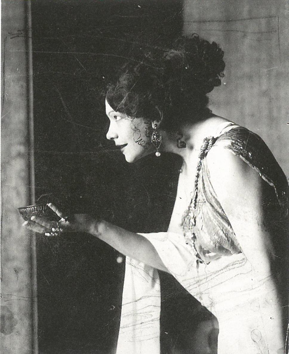 Studie zu Tilla Durieux als Circe