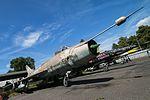 Su-7 Fitter, MiG-23 Floggers, Czech Air Force Museum, Prague-Kbely Airbase (28565551353).jpg