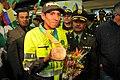 Subintendente Luis Fernando López, campeón medalla de Bronce en el XIII Campeonato Mundial de Atletismo de 2011 (6100258052).jpg