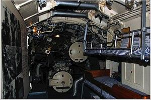 Finnish submarine Vesikko - Inside Vesikko in the torpedo room.