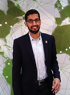 Sundar Pichai Indian American engineer and business executive