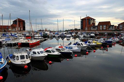 Sunderland Marina and the beautiful sky - panoramio