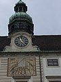 Sundial Hofburg Vienna Austria.jpg