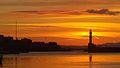 Sunset Old Venetian Harbor (Chania Town, Greece).jpg