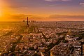 Sunset over Paris 3, France August 2013.jpg