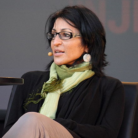 Palestinian novelist and non-fiction writer Susan Abulhawa Susan Abulhawa.jpg