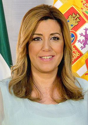 President of Andalusia - Image: Susana Díaz 2015