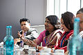 Sushma Berlia, President, Apeejay Stya & Svran Group, talking about the need for eduction in India (14327909870).jpg