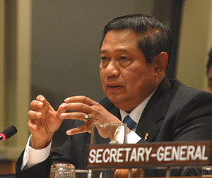 Susilo Bambang Yudhoyono - Yudhoyono in United Nations.