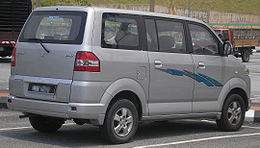 Suzuki APV (first generation) (rear), Serdang.jpg