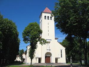 Gričiupis - St. Anthony church in Gričiupis elderate