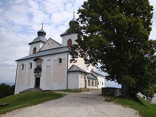 Sveti Jošt nad Kranjem Place in Upper Carniola, Slovenia