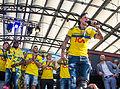 Sweden national under-21 football team celebrates in Kungsträdgården 2015-12.jpg