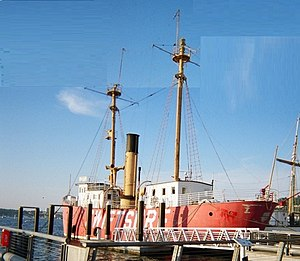 Northwest Seaport - Lightship No. 83, aka Swiftsure, built in 1904, is one of Northwest Seaport's historic fleet.