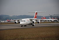 SE-DJN - RJ85 - Braathens Regional Aviation