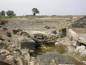 Sybaris - Remains of the port facilities of Sybaris