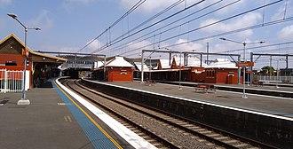 Sydenham railway station, Sydney - Image: Sydenham railway station 20171004 01