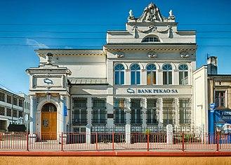 Żyrardów - Bank Pekao building