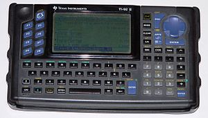 TI-92 series - TI-92 II, a slightly upgraded version of the TI-92, with double the RAM
