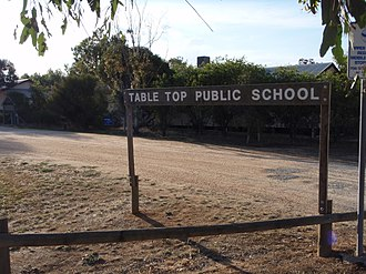 Table Top, New South Wales - Table Top Public School