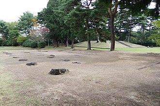 Taga Castle - Tagajō Temple ruins