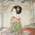 TakehisaYumeji-EarlyShōwa-Maiko on Lakeside.png