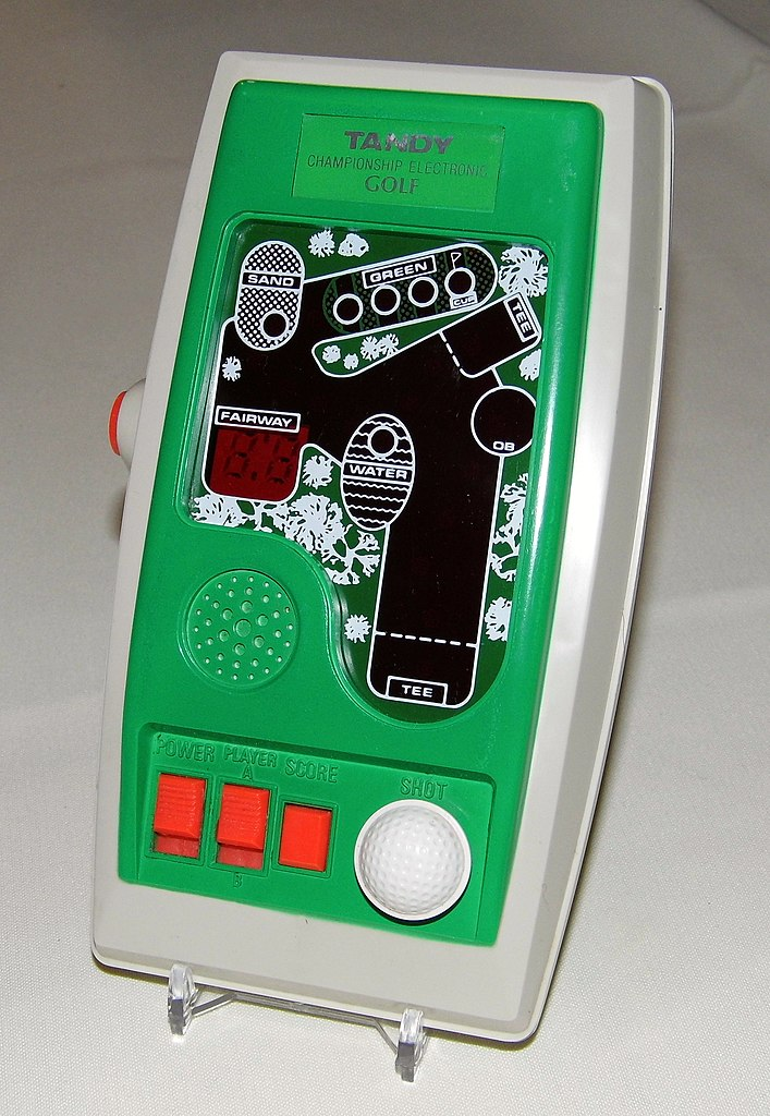 File:Tandy Championship Electronic Golf, Made in Japan ...