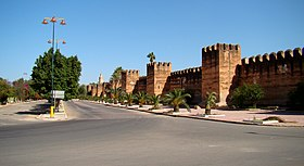 Taroudant's defensive wall
