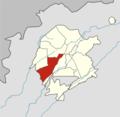Tashkent city (Uzbekistan) Chilanzar district (2018).png
