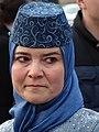 Tatar Woman at May 18 Commemoration of Crimean Tatar Deportations-Genocide - Maidan Square - Kiev - Ukraine - 01 (26494951704).jpg