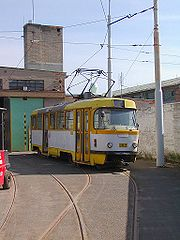 Plzeňská tramvaj Tatra T3