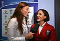 Team Austria - Olympic Games 2012 - farewell party, Nina Dittrich, Mirna Jukic.jpg
