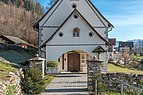 Techelsberg Sankt Martin Pfarrkirche hl. Martin Vorhalle W-Ansicht 08122019 7643.jpg