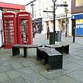 Telephone kiosks, Great Underbank, Stockport.jpg