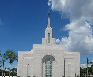 San Salvador El Salvador Temple - Image: Temple Mormon of El Salvador