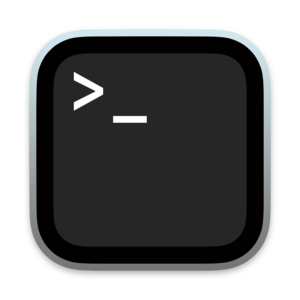 Terminal (macOS) - Image: Terminalicon 2