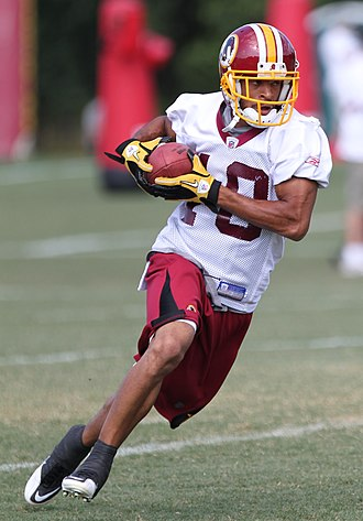 Terrence Austin - Austin during the Redskins' 2011 training camp