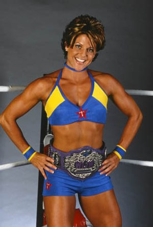 Women of Wrestling - Terri Gold, former WOW Champion