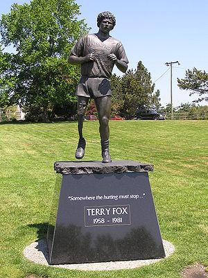 Terry Fox - Image: Terry Fox Denkmal