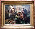 Théodore chassériau, capi tribù arabi si sfidano a duelle sotto i bastioni di una città, 1852.JPG