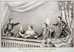 刺殺林肯总统(想像圖)