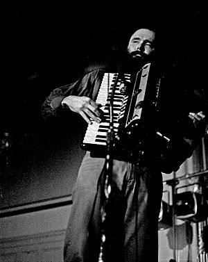 Sunshine Life for Me (Sail Away Raymond) - Garth Hudson of the Band played accordion on the song.