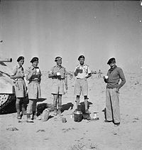 The British Army in North Africa 1942 E19096