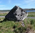 The Broken Heart Stone, Rannoch Moor, Perth & Kinross, Scotland. View from the north.jpg