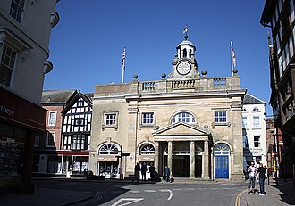 William Baker of Audlem - Image: The Buttercross, Broad Street, Ludlow geograph.org.uk 1743023