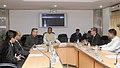 The Chief Minister of Chhattisgarh, Dr. Raman Singh calls on the Union Steel Minister, Shri Beni Prasad Verma, in New Delhi on December 01, 2011.jpg