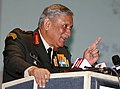 The Chief of Army Staff, General Bipin Rawat addressing at the 33rd USI National Security Lecture function on 'Media as a Force Multiplier for National Security', in New Delhi on December 06, 2017.jpg