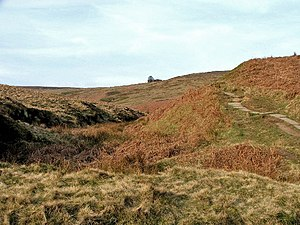Wuthering Heights - The climb to Top Withens, thought to have inspired the Earnshaws' home in Wuthering Heights