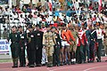 The Contingent marching in traditional dress at the opening ceremony of Military World Games, in Hyderabad on October 14, 2007.jpg