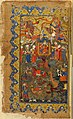 The Court of Queen Sheba, Sindbadnama, 1575-85, f.1r, British Library.jpg